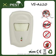 mosquito repellent visson x pest vsA620 Pest repeller electro magnetic electronic lizard repellent