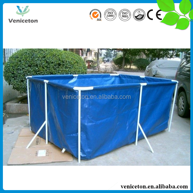 Veniceton plastic swimming pool water tank with wheels