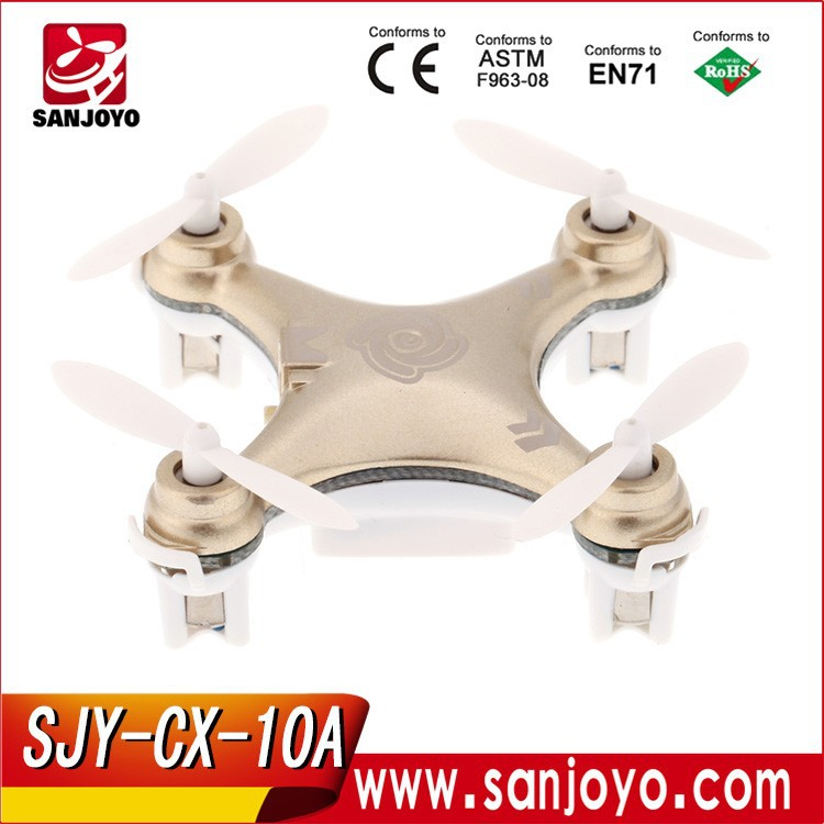 acheter un drone CX-10A Headless Mode 2.4G 4CH 6 Axis RC micro quadcopter Quadcopter RTF - 2015 <strong>model</strong>