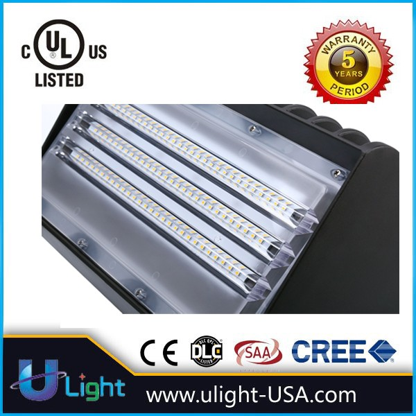 photocell LED wall pack light 150W with UL DLC listed 400W HID replacement