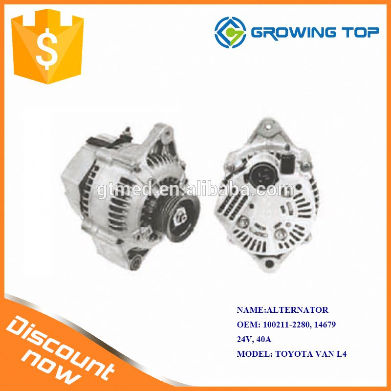 Original Quality 100211-2280 / 14679 Motorcycle Alternator for toyota