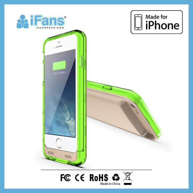New Arrival 3100mAh Battery Case for iPhone 6,for iPhone 6 Power Bank Case