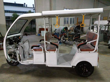 hot selling batterry motorcycle auto three wheel electric tricycle rickshaw for export sales