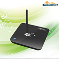 Cloudnetgo rk3288 2G+8G dual wifi mode iptv android tv box with XBMC