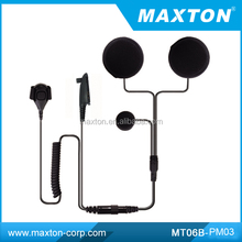 Motorcycle implant helmet headset for Motorola HT1250 MT06B-PM03