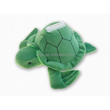 Plush cute sea turtle animal bank toy