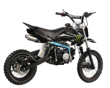 Mini dirt bike kick start pit bike cross 125cc sports bike