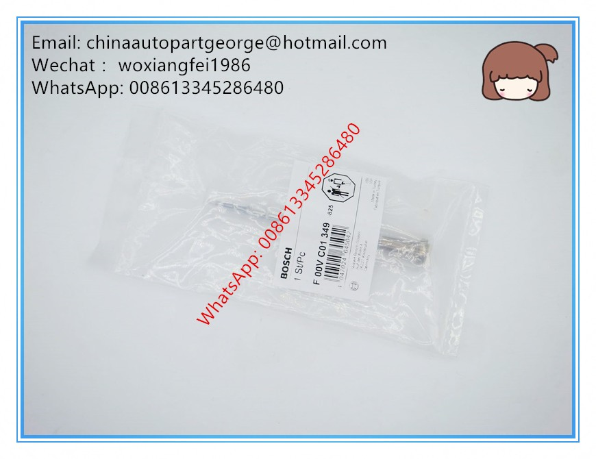 (Fake a penalty ten)Original and new Common rail injector control valve F00VC01349 for 0445110249, 0445110250