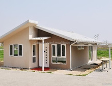 High Quality Single Storey EPS Cement Sandwich Panel Prefab House from DQ Factory for export
