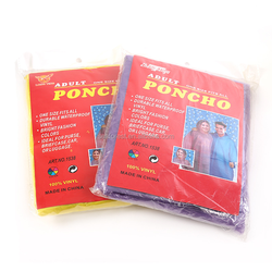 long waterproof plastic disposable raincoat,one time use emergency rain poncho