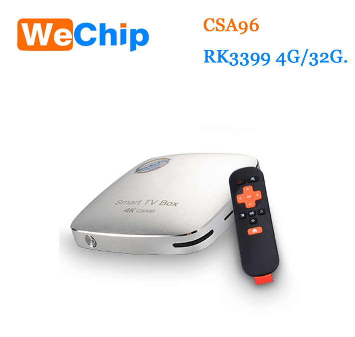 High Quality INTEL CSA96 MINI PC ROCKCHIP 6 Cores 2.0GHz 64bit Android 6.0 TV Box RK3399 CSA96