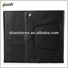 2014 new design Bluetooth Keyboard Leather Case For Ipad 2 3 4 nice case for ipad