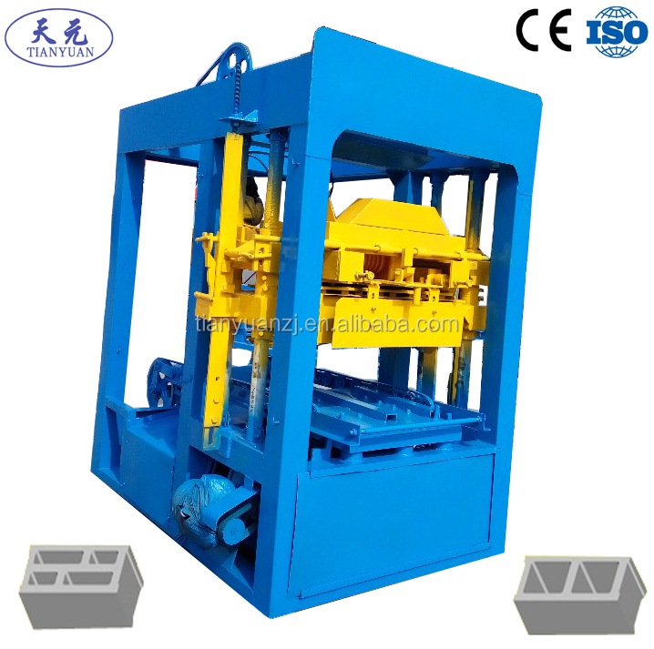 QTJ4-26D paving blocks machines using concrete or cement in Nepal