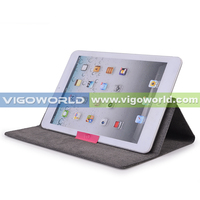 Flexistand 2 envelope case made of PU Leather or microfibre material for iapd mini and other 7 inch tablets case wholesale