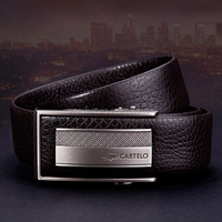 New arrival Fashion Genuine Men's Belts Full Grain Leather Belt for Men