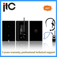 Professional 2.4 G Active multimedia speaker with mic input