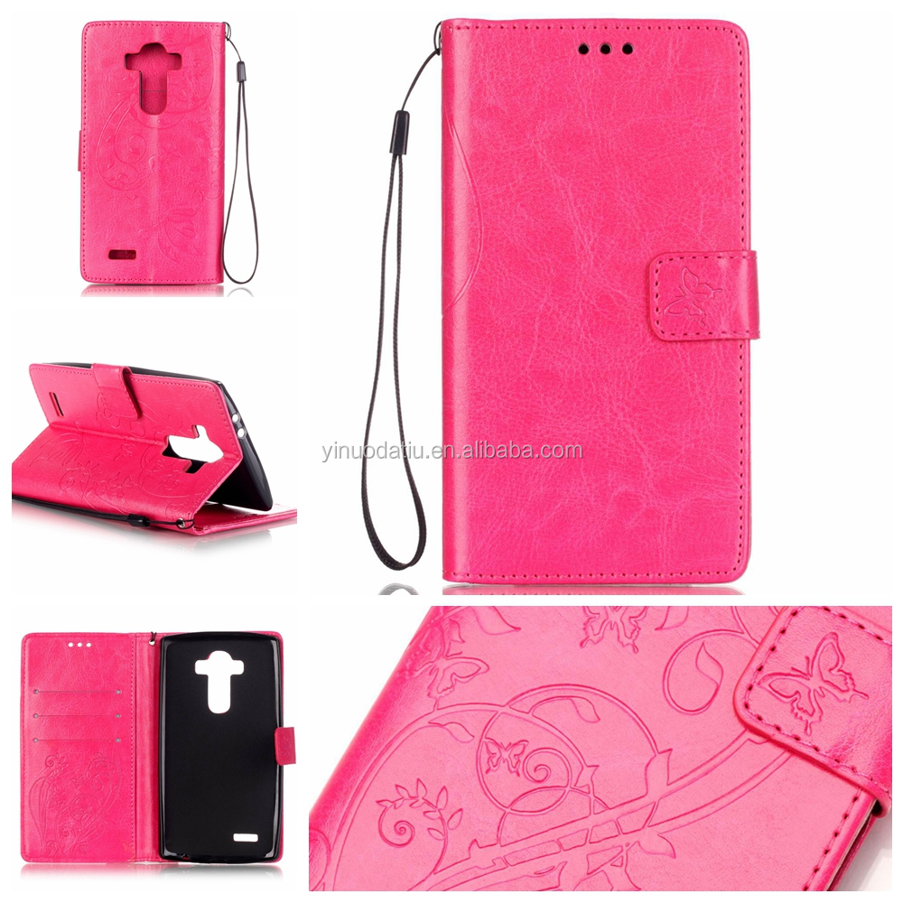 New fashion design engraving cell phone cover for LG G4