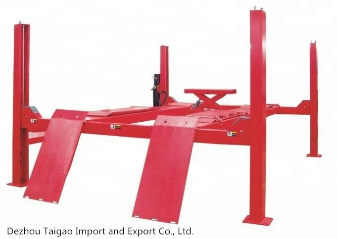 High quality used home garage 4 post car lift for sale