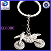 Fashion Stylish Alloy Silver Cute Motorcycle Keyring