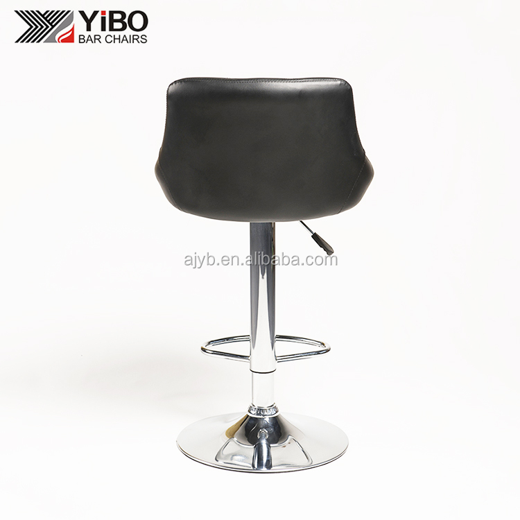 2017 Made in China modern pu seat adjustable bar stool