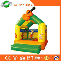2015 Factory direct sale top quality Christmas party bouncy castle, giant inflatable bouncer slide,commercial bouncer combo