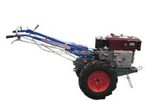 8HP 2WD Farm Two Wheel Walking Tractor with the Trailer Multi-function Supply