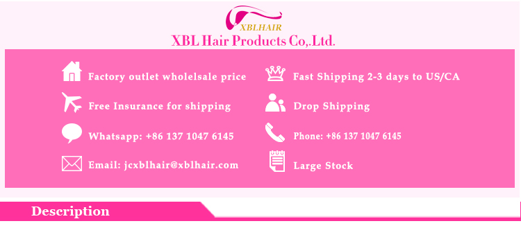 XBL hair manufacturer no mixed pure and healthy aliexpress hair full lace wig