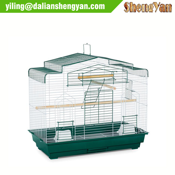 Stainless steel parrot or macaw bird cage