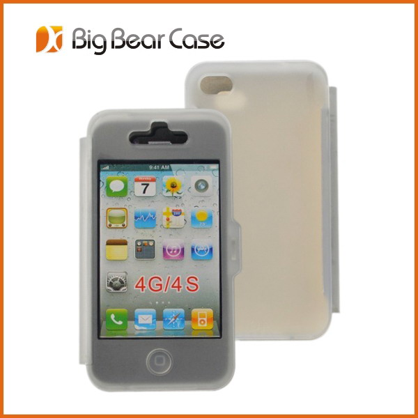 For iphone 4s wholesale clear phone case