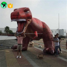 Customized Red T-REX Inflatable Dinosaur 5m Big Dinosaur Inflatable 16ft Dinosaur Animal Inflatable Cartoon For Exhibition A856