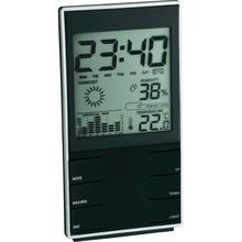 Wireless LCD display Digital Weather Station Clock With Indoor Temperature Thermometer Hygrometer