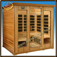 discount red cedar far infrared sauna room