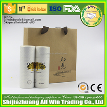 china oem leakproof silicone honey packaging tube