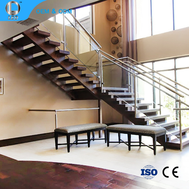 Chinese Supplier Precast Glass Handrail Holder Interior Decorative Spiral Staircase Metal Baluster