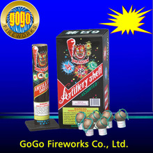 "Wholesale fireworks shells facrory direct wholesale 1.75"" artillery shells fireworks"
