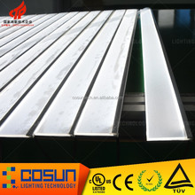 Laser V-cutting or Dotting LED plastic glass sheet, illuminated Panel