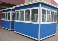 prefabricated container house easy to assemble and disassemble