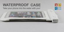 Mobile phone durable waterproof bag for iphone