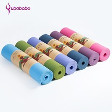 Gym equipment eco friendly non slip yoga mats pilates stretching exercise mat price