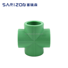 Sarizon Plastic Elbow 4 Way Pipe Connector Pipe Fitting
