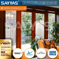 solid wood french window