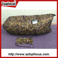 factroy price customized your colorful air bean bag lay bag air sleeping bag