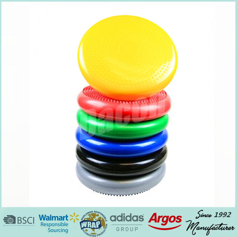 inflatable balance disc 33cm 34cm 37cm 42cm