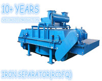 RCDFQ China new type iron magnetic separator for iron ore
