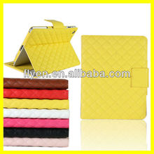 2013 New Fashion Luxury Leather Belt Clip Stand for iPad mini Case Belt Clip Case With Card Slot Manufacturer Wholesale