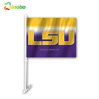 Advertising decorative Car Used Promotional Magnetic Flags Cheap Custom Car Flags