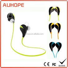 New sports running voice prompt dual connection bluetooth 4.0 earbuds hands-free headset