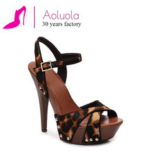 fashion and fancy cross strap studded slingback girls latest high heel sandals for ladies