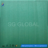 Colored woven polypropylene mesh fabric in roll