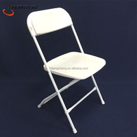 Hot Sale Top Quality Steel & PP Wholesale Plastic Wedding/Event Folding Chair